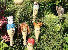 bildergebnis für gartenstecker holz selber machen | garten, Garten und bauen