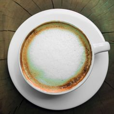 Froth on a Cappuccino
