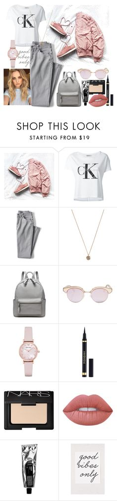 """""""good vibes"""" by mihaela-dragan ❤ liked on Polyvore featuring Calvin Klein Jeans, Lands' End, Jada, Le Specs, Emporio Armani, Yves Saint Laurent, NARS Cosmetics, Lime Crime and Urban Outfitters"""