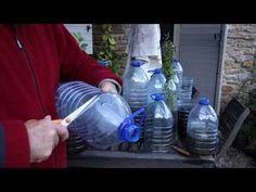 Bouteilles transformées en serres pour plantes avec des lombrics - YouTube Drink Bottles, Water Bottle, Youtube, Urban Gardening, Pvc, Nature, Blog, Garden, Decorated Bottles