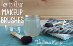 Makeup brushes can harbor bacteria, fungus and all kinds of unsavory gunk. Find out how to disinfect and clean makeup brushes without using nasty chemicals.