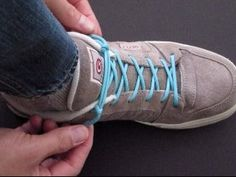 Never tie your shoes again!! JD Lenzen, of TyingItAllTogether, shows you the simple way to cinch your paracord-laced kicks. Check this out!!https://www.youtube.com/watch?v=FNlUEe-5ye8&list=UUzQrtnJLZaH09xyZ1oKNq7Q
