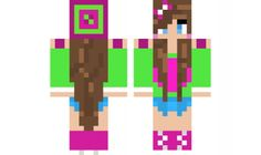 minecraft skin casual-girl Find it with our new Android Minecraft Skins App: https://play.google.com/store/apps/details?id=the.gecko.girlskins