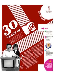 30 years of MTV  The Independent on Sunday