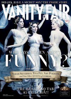Vanity Fair April 2008, Sarah Silverman, Tina Fey & Amy Poehler