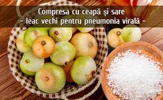 Compresa cu ceapa si sare – leac vechi pentru pneumonia virala   LaTAIFAS