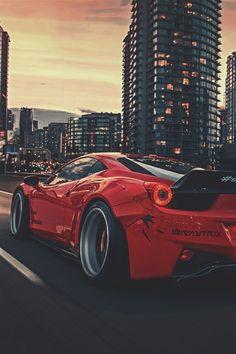 Ferrari 458 LibertyWalk (Marcel Lech) | ikwt