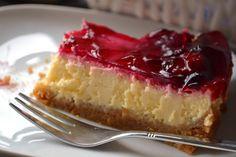 Kersen cheesecake met kwark en roomkaas
