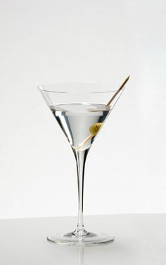 The Riedel Sommeliers Martini glass. A timeless shape for a classic drink.