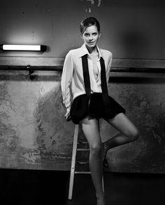 Emma Watson - Black and white