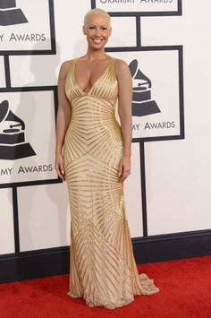 amber rose killing it at the 56th grammy awards