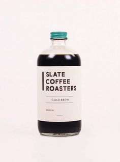 Product and Packaging: Slate Coffee Roasters Juice Packaging, Cookie Packaging, Beverage Packaging, Bottle Packaging, Coffee Label, Coffee Menu, Slate Coffee, Drinks Logo, Beer Recipes