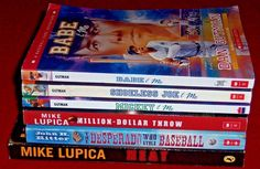Baseball Mike Lupica Ritter Gutman Sports 6 Chapter Books Ages 8-12
