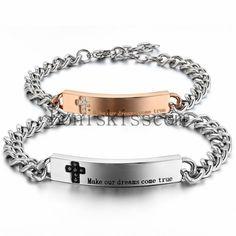 Personalized Matching Bracelets Roman Numeral For S Wedding Anniversary Gift His Her Boyfriend Friend Bracelet Pinterest
