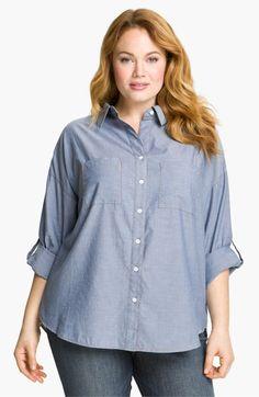 Sandra Ingrish Chambray Shirt | Nordstrom