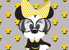 Minnie Mouse:) Mickey Mouse Crafts, Mickey Mouse Cartoon, Mickey Mouse And Friends, Mickey Minnie Mouse, Arte Disney, Disney Love, Disney Coupons, Mickey Party, Disney Pictures