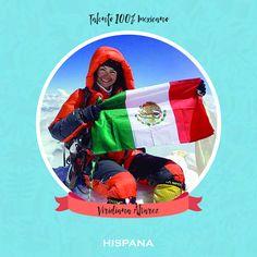 Mujer exitosa y además mexicana. Alpinista Viridiana