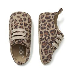 Joe Fresh Baby Girl's Leopard Print Shoe