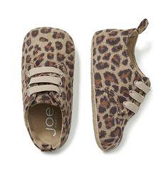 Joe Fresh Baby Girl's Leopard Print Shoe