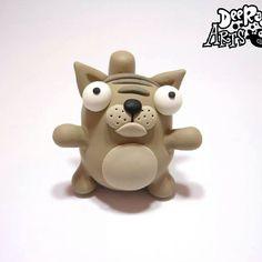 #polymerclay #polymer #handmade #deeraaarts #sculpey #sculpeyclay #sculpt #cartoon #kawaii #cute #fimo #clay #art #artist #artistofinstagram #shop #colour #hellokitty #cat #mini #kitty #instacat #aardman #love #me #kitten #kittens