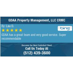 GDAA has a great team and very good service. Super recommendable
