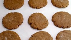 Cookie Monster's Favorite Molasses Crackle Cookies...
