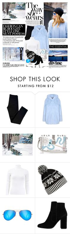 """""""Who you spend your time with will have a great impact on what kind of life you live. Spend time with the right people."""" by mars ❤ liked on Polyvore featuring J Brand, George J. Love, Chanel, Dolce&Gabbana, Michael Kors, WithChic, Ray-Ban and MANGO"""