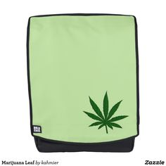 Marijuana Leaf Backp
