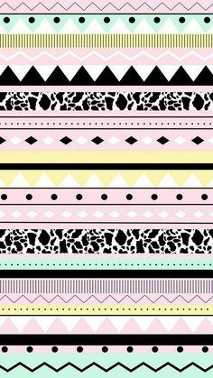Aztec Pattern Wallpaper, Tribal Wallpaper, Vs Pink Wallpaper, Vintage Flowers Wallpaper, Wallpaper Keren, Kawaii Wallpaper, Wallpaper Iphone Cute, Screen Wallpaper, Cute Wallpaper Backgrounds