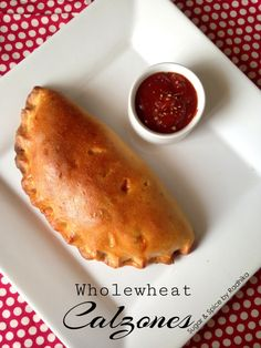 Wholewheat Calzones- Super Healthy and Flavourful!  Pin it!!