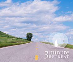 Faith Gives Us Vision 3 Minute Retreat