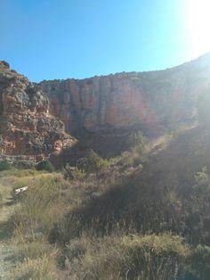De Jaraba a Calmarza, barranco de la Tejera, Comarca Comunidad de Calatayud