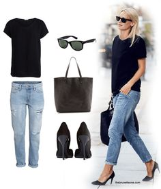 The Brunette One Your Life Styled Jeans Tee copy
