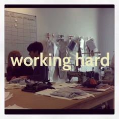 En el taller de Or Else Barcelona #orelse #fashion #madeinbarcelona  www.orelse.es
