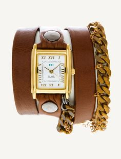 La Mer Watches: Moscow Braided Chain Wrap Watch