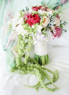 wedding bouquet - photo by Lisa Blume Photography http://ruffledblog.com/destination-wedding-in-a-puerto-rican-rainforest