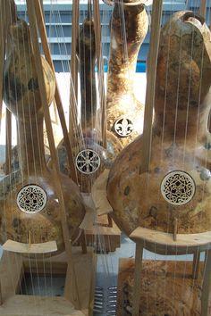 Gourd Harps Gallery