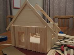 doll house building