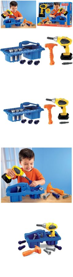 Tool Sets 158747: Drillin Action Tool Set Developmental Kids Pretend Play Tools Toy - New -> BUY IT NOW ONLY: $37.32 on eBay!