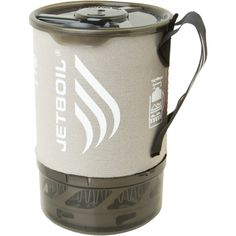 Thanks to its all-new, four-season burner, the nine-ounce Jetboil Sol Titanium Stove can cook up hot food and drinks on skin tracks and ultralight trails alike. The Thermo-Regulate Burner Technology boasts the same reliable performance as previous Jetboil designs, but works in temperatures down to 15-degrees Fahrenheit.