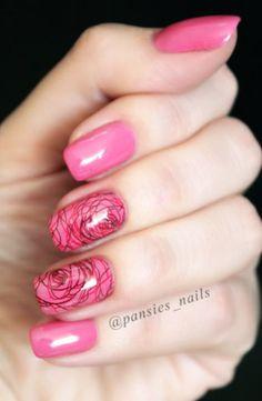 stamping nail art BCN18