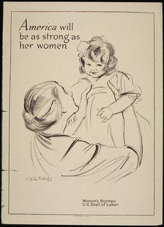 """America will be as strong as her women"", 1941 - 1945 by The U.S. National Archives, via Flickr"