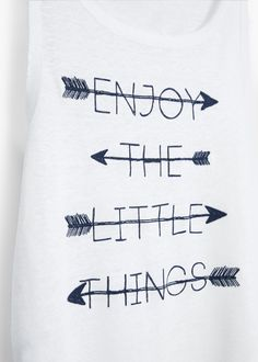Printed linen t-shirt   MANGO