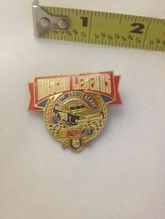 NASCAR Legends 50th Anniversary Lapel / Hat Pin 1998