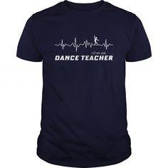 halloween  Dance Teacher Heart Shirts & Tees