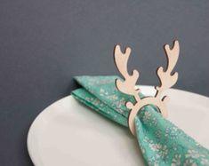 Anillos de servilleta de Navidad por UniqueGiftsAustralia en Etsy