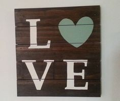 Hey, I found this really awesome Etsy listing at https://www.etsy.com/listing/156782367/wood-love-sign-wooden-pallet-12-x-12