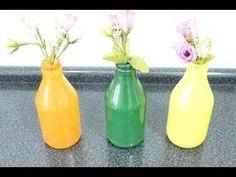 DIY: Como fazer uma garrafa decorada (jarro decorativo) - YouTube
