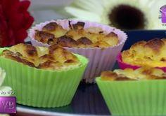 Muffin sem carboidrato e Muffin de banana sem farinha