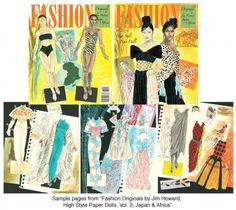 Fashion Originals Asia & Africa - Scratch n dent sale! [Just a few copies available!] : Paper Dolls of Classic Stars, Vintage Fashion and Nostalgic Characters, for Kids and Collectors Barbie Fashion Sketches, Ancient Artifacts, Paper Dolls, Coloring Books, Arts And Crafts, Africa, Vintage Fashion, Japan, The Originals